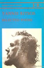 Yannis Ritsos: Selected Poems